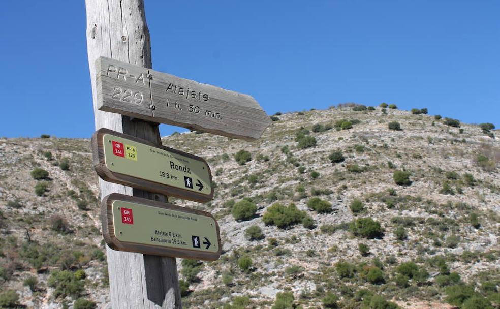 Grandes itinerarios para senderistas que se pueden recorrer en Málaga
