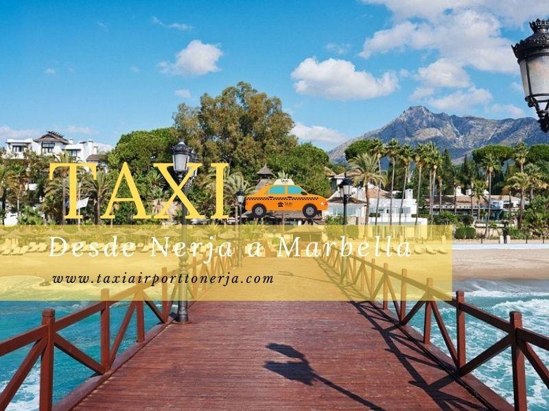 Taxi desde Nerja a Marbella