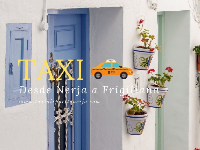Taxi from Nerja to Frigiliana
