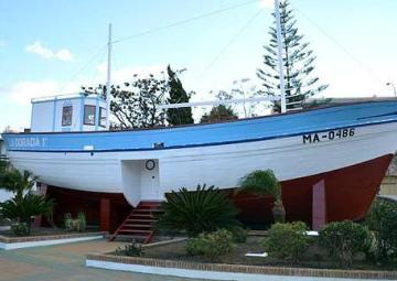 El barco de Chanquete se convertirá en un punto de información turística en Nerja